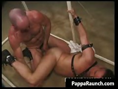Extreme Gay Hardcore Asshole Fucking Bondage Gay Video 4 By PappaRaunch