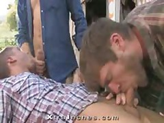 Colby Keller And Tommy Defendi Fuck Chris Porter