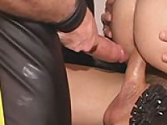 Cum Slut Gets Double Fucked