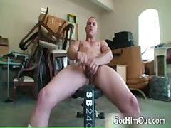 Secret Weight Lifting Fag Free Gay Porn 2 By GotHimOut