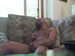 Super Hot Tattooed Guy Jerking His Jizzster 8 By GotHimOut