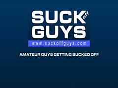 Straight Jock Gets Sucked Off