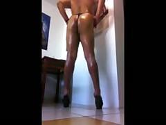 Sexy Heels & Thong