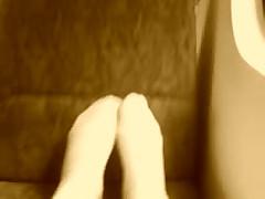 My Feet On Train