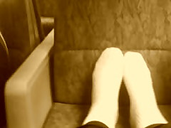My Feet On Train