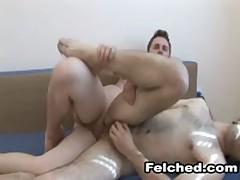 Hardcore Gay Fucking With Cum Felching