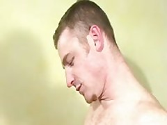 Cute Jock Takes Huge Cock