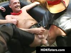 Gay Cowboys In Super Extreme Gay Fisting Videos 5 By HDKfisters