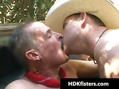 Homo Cowboys In Amazing Radical Homo Fisting Videos 11 By HDKfisters
