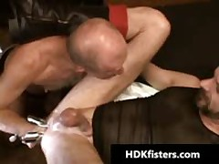 Homo Buddy Getting His Tiny Poopshute Fisted 5 By HDKfisters