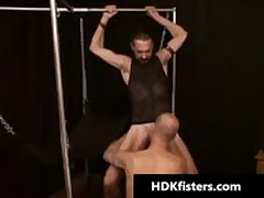 Queer Guy Getting His Small Ass Fisted 1 By HDKfisters