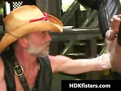 Homosexual Cowboys In Super Extreme Homosexual Fisting Videos Four By HDKfisters