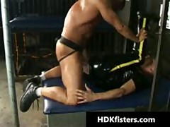 Deep Homosexual Arse Fisting Hard Core Iron Videos 2 By HDKfisters