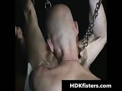 Travis Hollister And Buck Shafter Extreme Queer Fisting Four By HDKfisters