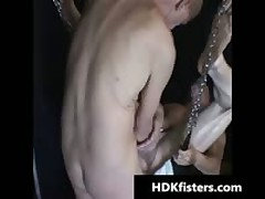Travis Hollister And Buck Shafter Extreme Queer Fisting 7 By HDKfisters