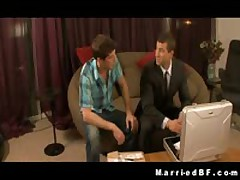 Hunks Jayden Rusty Making Out On A Lounge Three By MarriedBF