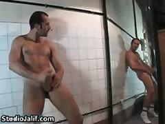 Eduardo Masturbating His Fine Gay Hardon In Bathtub Free Gay Porn 3 By StudioJalif