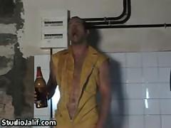 Eduardo Pulling His Fine Gay Schlong In Bathtub 2 By StudioJalif