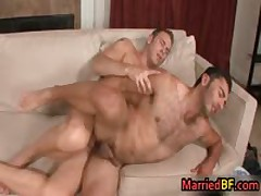 Married Dude Is Scared When He Blows His First Gay Schlong 6 By MarriedBF