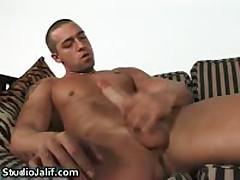 Latin Nacho Jerking His Firm Gay Cock 1 By Studiojalif