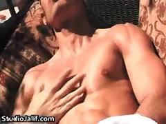 Louie Pitt Stroking His Nice Gay Cock 1 By Studiojalif