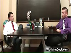 Matthew Singer Fucked And Sucked In Work Three By WorkingCock