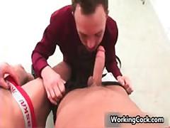 Kirk Cummings Fucks And Sucks On Work 5 By WorkingCock
