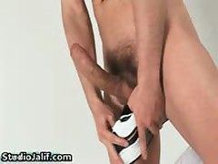 Hunki Edu Marin Jerking His Jizzster His Gay Erection Free Gay Porn Four By StudioJalif