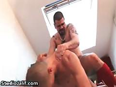 Jorge Bellantinos, Carlos Perez And Mario Domenech Homosexual 3some Gay Porno 5 By StudioJalif