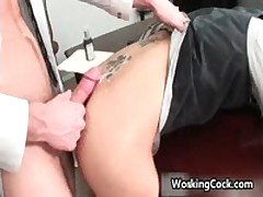 Shane Frost Fucked And Sucked In Work 15 By WorkingCock