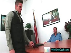 Kirk Having Steamy Free Gay Porn Treesome By Workingcock