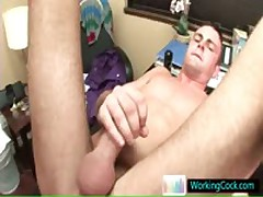 Matthew Getting His Small Stinker Hammered In The Work By WorkingCock