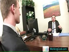 Job Interview Resulting In Horny Amazing Free Gay Sex By Workingcock