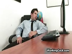 Andrew Blue Getting His Firm Penetrator Sucked Off In Work Three By WorkingCock
