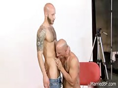 Horny Shaved Sexy Stud Posing Four By MarriedBF