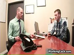 Cole Streets Suck And Fuck On Work Three By WorkingCock