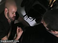 Manuel Roko And Pau Kbron Aroused Hard Core Gay Porno Three By StudioJalif