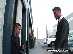 Shane Frost Suck And Fuck In Work Three By WorkingCock