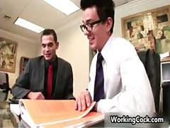 Seth Roberts Fucks And Sucks In Work Three By WorkingCock