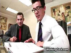 Seth Roberts Fucks And Sucks In Work Three By WorkingCock