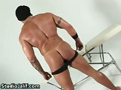Muscled Gay Hunk Rob Diesel Jerking His Big Cock Gay Porn 2 By StudioJalif