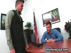 Kirk Cummings Fucks And Sucks On Work Three By WorkingCock