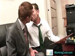 Johnatan Making A Enormous Impression At Job Interview By Workingcock