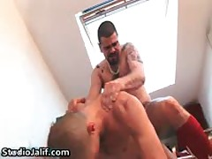 Jorge Bellantinos, Carlos Perez And Mario Domenech Homo Gangbang Free Porno 5 By StudioJalif