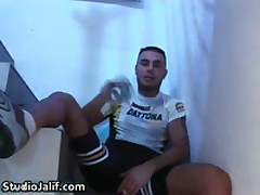 Macanao Torres Fingering His Tight Asshole And Jerks His Fine Gay Tube 4 By StudioJalif