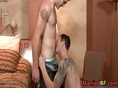Married Straight Guy Sucks Some Stiff Boner 2 MarriedBF