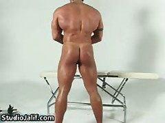 Muscled Gay Hunk Rob Diesel Jerking His Big Cock 4 By StudioJalif