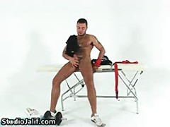 Macanao Torres Fingering His Tight Asshole And Jerks His Fine Gay Jizzster 2 By StudioJalif