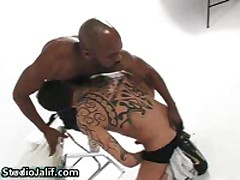 Chocolate And Jhony C In Super Hardcore Interracial Gay Porn 5 By StudioJalif