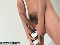 Hunki Edu Marin Masturbating His Gay Jizzster 8 By StudioJalif